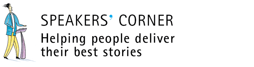 20 years of storytelling for business by international trainers and storytellers Speakers' Corner